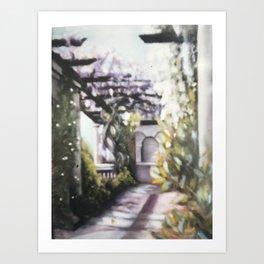 Hanging Gardens, Hampstead Art Print