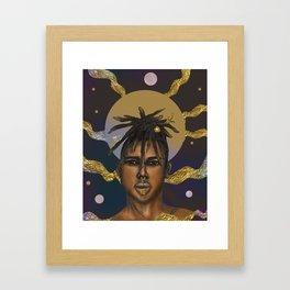 Afrocosmos II Framed Art Print
