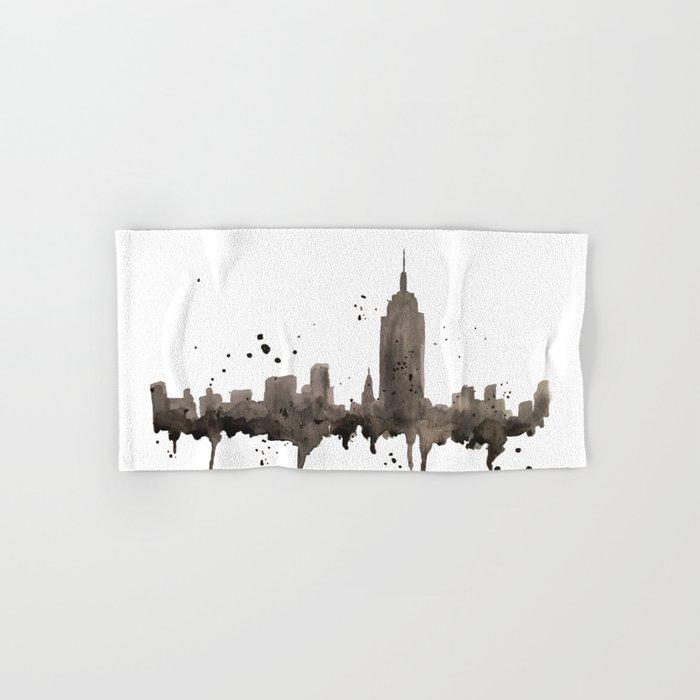 NYC Skyline Hand & Bath Towel