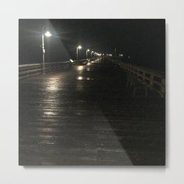 A walk alone Metal Print