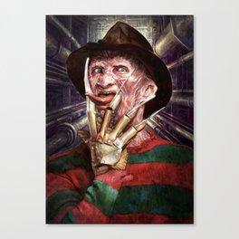 Nasty Freddy Canvas Print