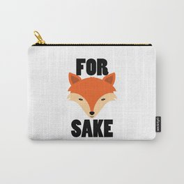 FOR FOX SAKE Carry-All Pouch