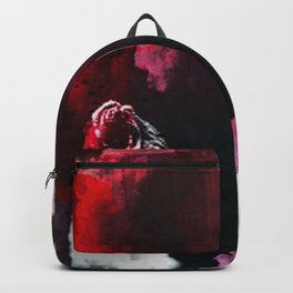 """You were born for this Clarke. Same as me."" Backpack"