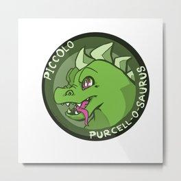 Purcell-o-Saurus Metal Print