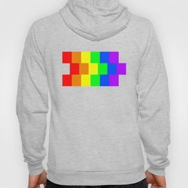 Rainbow flag - Vertical Stripes version Hoody