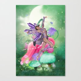 Joyful Fairy .. fantasy Canvas Print