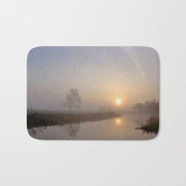 Silence at Sunrise Bath Mat