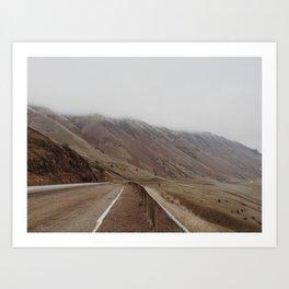 Road trip #2 Art Print