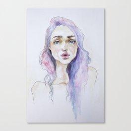 Lavender baby Canvas Print