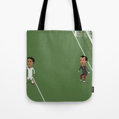 Drogba's backheel goal Tote Bag