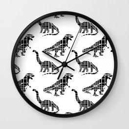 Capitalsaurus + Capitalsaurus Rex Wall Clock