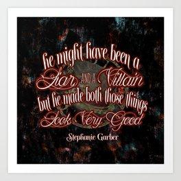 Legendary Quote Art Print