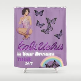 Kali Uchis Tour Shower Curtain