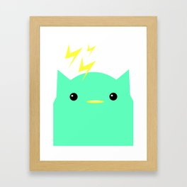 Thunder Cat Framed Art Print