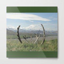 Alaska Mt. Denali Metal Print