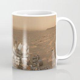 NASA Curiosity — Dust Storm Selfie Coffee Mug