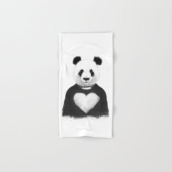 Lovely panda Hand & Bath Towel