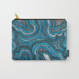 infinity waves in a dark ocean Carry-All Pouch