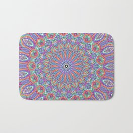 A little bit of Rainbow - Mandala Art Bath Mat
