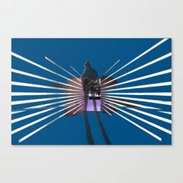 Simple Ghost Canvas Print
