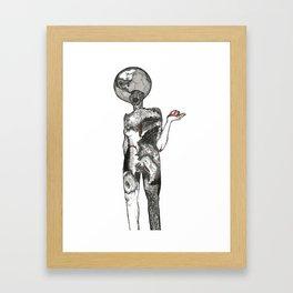 Ink Blots Framed Art Print
