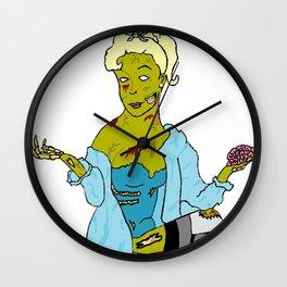 Betty Zombie Wall Clock