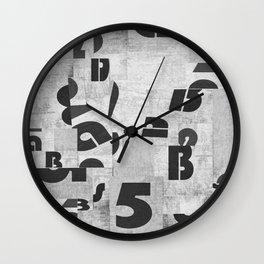 Abstract pattern 51 Wall Clock