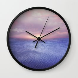 Sunset v4 Wall Clock