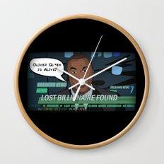 Starling City News Wall Clock