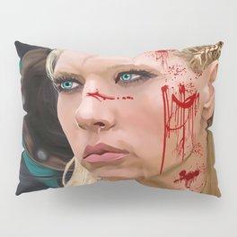 Lagatha Shield Maiden Painting Pillow Sham