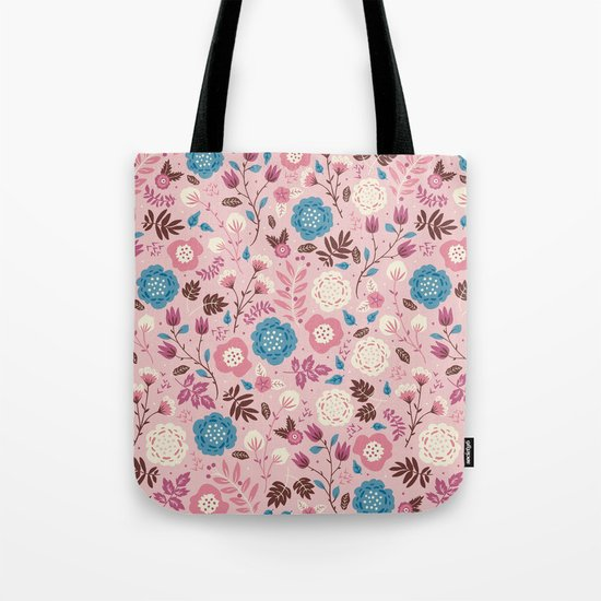 Pretty Pink Tote Bag