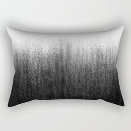 Charcoal Ombré Rectangular Pillow