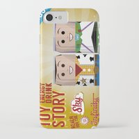 toy story iPhone & iPod Cases featuring Toy Story Soda Cans by Oneskillwonder