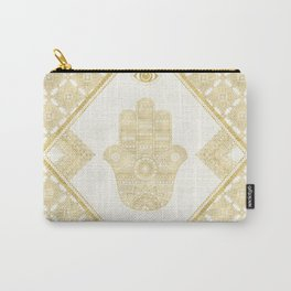 Fatima Hand (gold) Carry-All Pouch