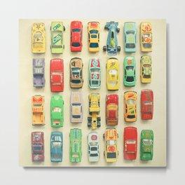 Car Park Metal Print
