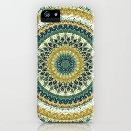 Happy Garden Mandala iPhone Case