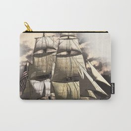 sailing ship vintage Carry-All Pouch