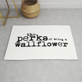 The perks of being a wallflower. Rug