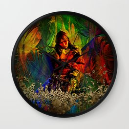 """"""" The future of a child is the work of her mother""""  Wall Clock"""