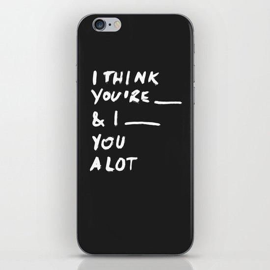 ____ iPhone & iPod Skin