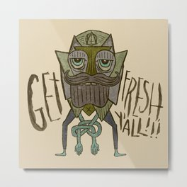 GIT FRASH Metal Print