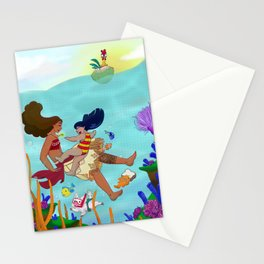 Sister Islands Stationery Cards