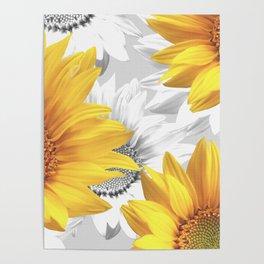 Sunflower Bouquet #decor #society6 #buyart Poster