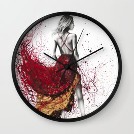 Fashion Gold Wall Clock