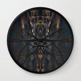 Treeflection II Wall Clock