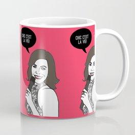 Chic C'est La Vie Coffee Mug