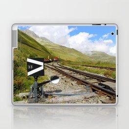 Ancient mountain railway Laptop & iPad Skin