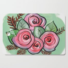 Roses for my Valentine Cutting Board