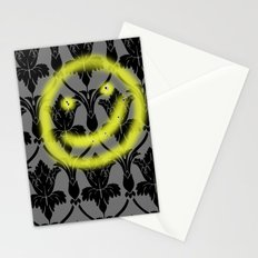 Sherlock smiling wall Stationery Cards