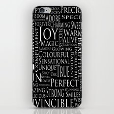 You Are All Of This And More!. iPhone & iPod Skin